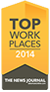 Top Workplaces 2014 - The News Journal