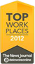 Top Workplaces 2012 - The News Journal