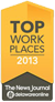 Top Workplaces 2013 - The News Journal